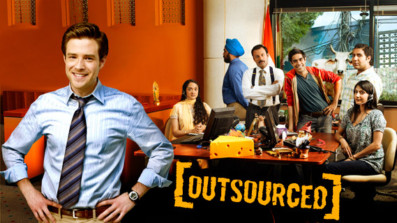 Outsourced - now with added smug grin!